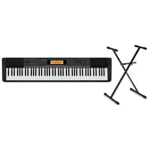 CASIO CDP-230 BK pianino cyfrowe ze statywem