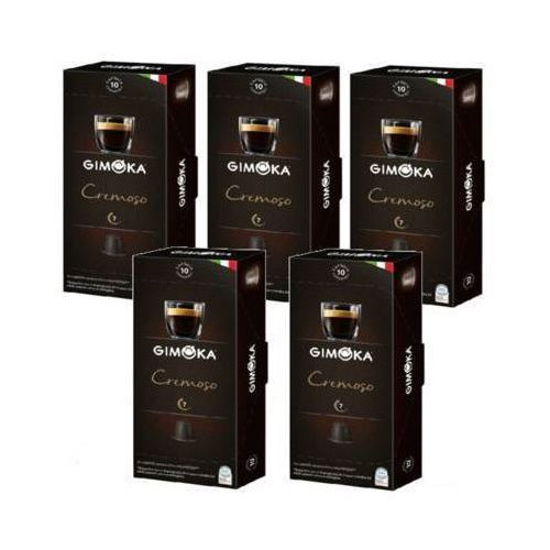 Zestaw 5x GIMOKA Cremoso Nespresso Włoska Kawa W Kapsułkach 10szt.