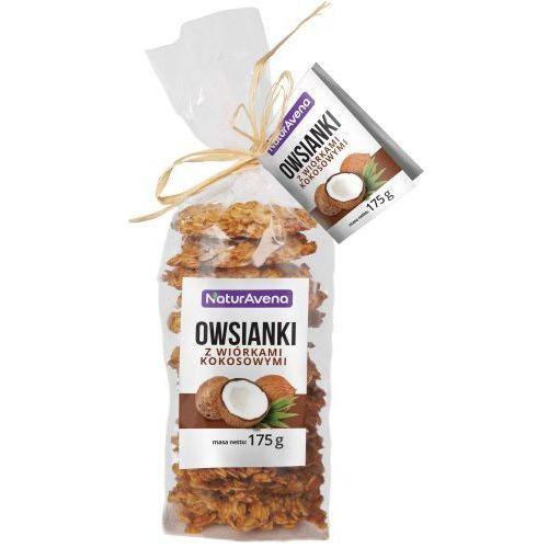 Naturavena Ciastka owsianki z wiórkami kokosowymi 175g -