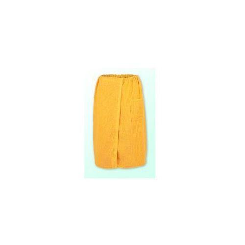 Sauna kilt ręcznik żółty 100% bawełna uniwersalny 70*140 cm marki Produkcja własna