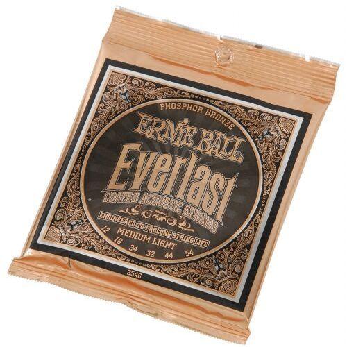 2546 coated phosphor bronze struny do gitary akustycznej 12-54 marki Ernie ball