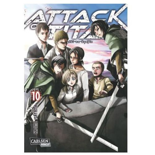 Attack on Titan. Bd.10