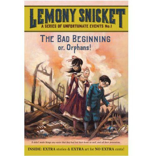 The Bad Beginning. Der schreckliche Anfang, englische Ausgabe (9780061146305)