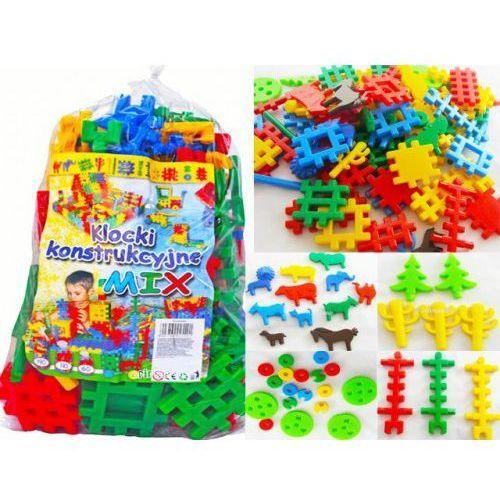 Klocki konstrukcyjne mix 190 zabawka dla dzieci