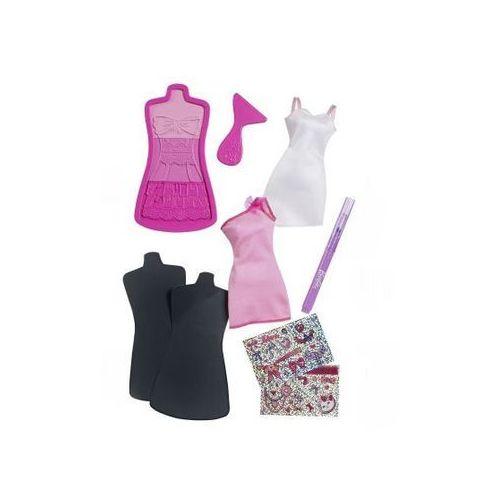 Mattel Barbie studio projektowe BBY95, różowy - sprawdź w Mall.pl