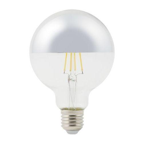 Diall Żarówka lustrzana led g95 e27 5 w 470 lm przezroczysta barwa ciepła srebrna (3663602669869)