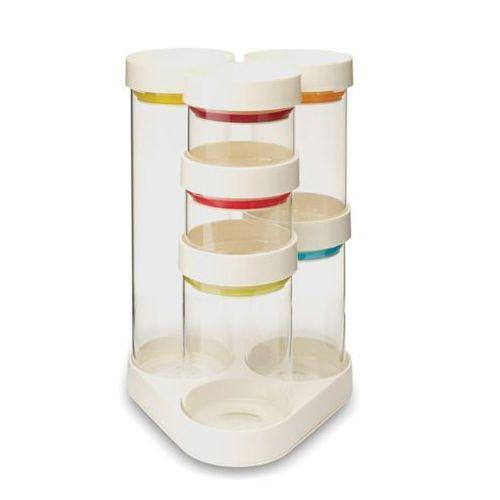 Joseph joseph - food store zestaw pojemników biały ilość elementów: 7