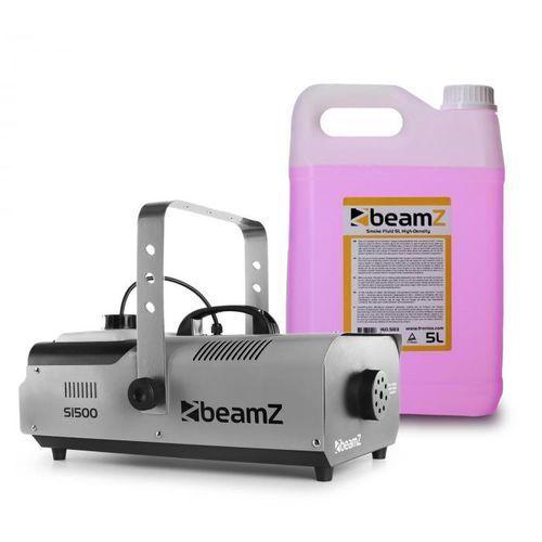 S1500 wytwornica mgły z 5 l fluidu do wytwarzania mgły 1500 w dmx marki Beamz