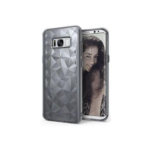 Samsung Galaxy S8 - etui na telefon Ringke Air Prism - szary