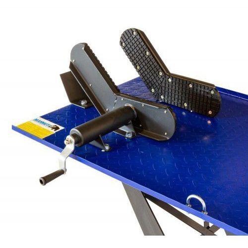 Podnośnik motocyklowy hydrauliczno – pneumatyczny trapezowy 450 kg - ML45PA, ML45PA