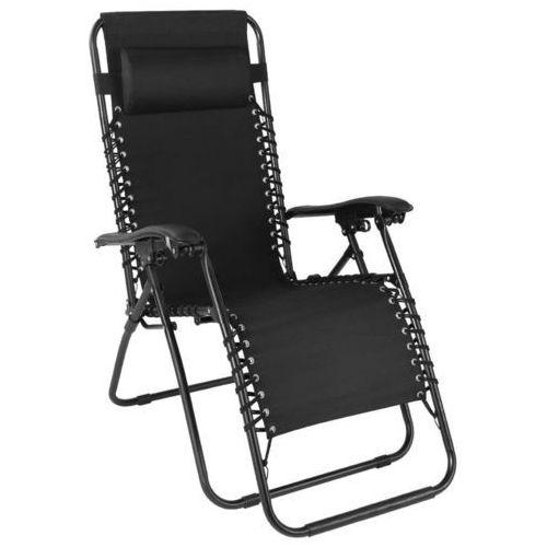 Leżak ogrodowy leżanka fotel krzesło regulacja marki Wideshop