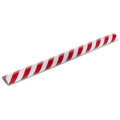 Knuffi® profil ostrzegawczy i ochronny, odblaskowy,bez szyny montażowej marki Shg pur-profile