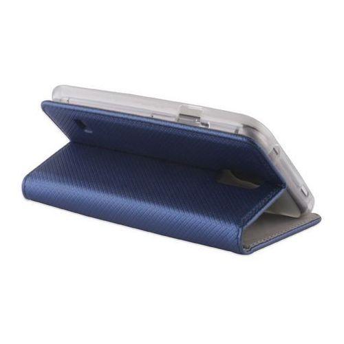 Pokrowiec Smart Magnet do Huawei P10 Lite granatowy box, kolor niebieski