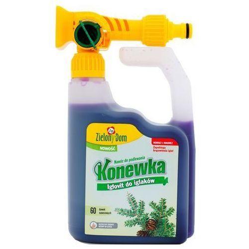 Zielony dom Konewka igłovit nawóz do iglaków : pojemność - 950 ml