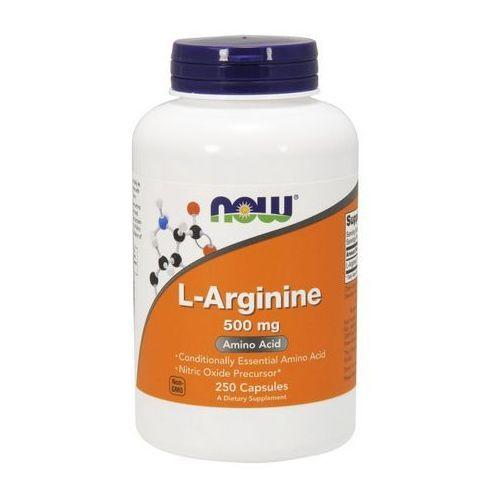 Now Foods L-Arginina 500mg 250 kaps., NOW FOODS