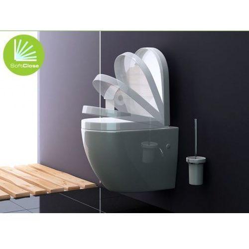 REA - Miska WC wisząca CARLO z deską wolnoopadającą ABS + MATA AKUSTYCZNA GRATIS!!! - sprawdź w wybranym sklepie
