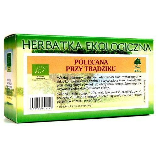 Herbata Polecana przy trądziku fix BIO 25*2g DARY NATURY (5903246861907)