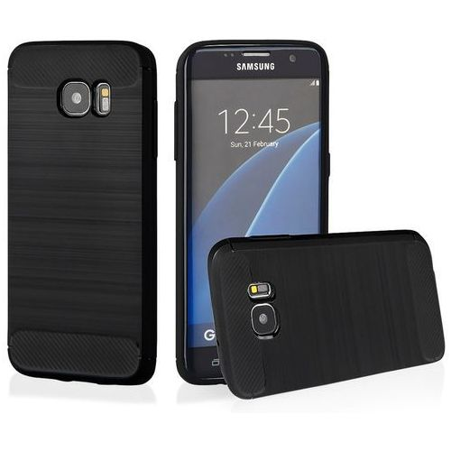 Qult Etui back case armor do samsung galaxy s7 edge czarny
