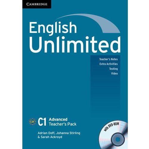 English Unlimited Advanced. Książka Nauczyciela + DVD, oprawa miękka
