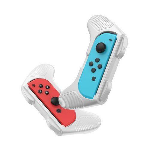 zestaw 2x nakładka na joy-con joystick pad do nintendo switch szary (gmswc-0g) - szary marki Baseus