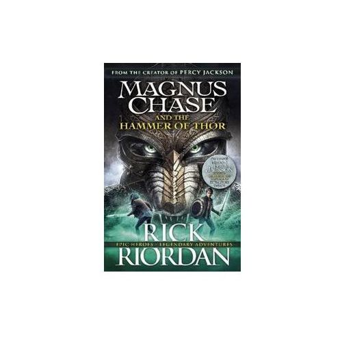 Magnus Chase and the Hammer of Thor - Rick Riordan OD 24,99zł DARMOWA DOSTAWA KIOSK RUCHU (496 str.)