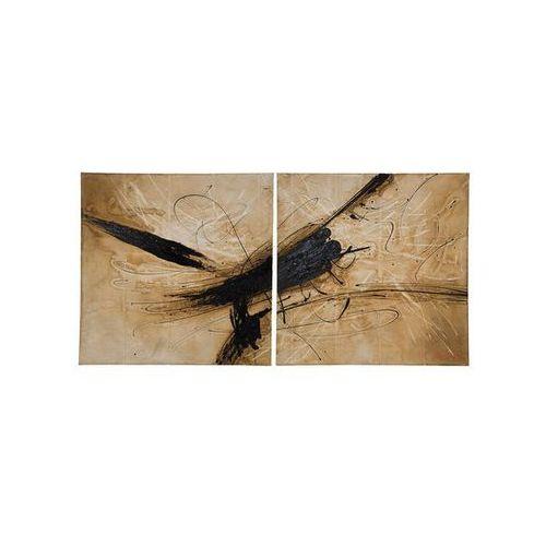 Kare Design Modern Vintage Strong Emotions 120x120 (2/Set) Obraz (31507) (obraz)