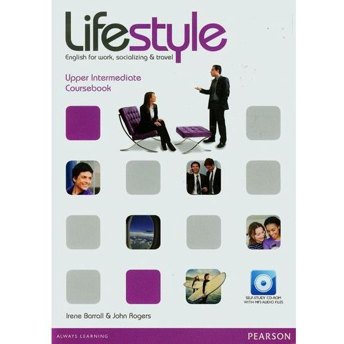 Lifestyle Upper-Intermediate, Coursebook (podręcznik) plus CD-ROM (9781408297780)