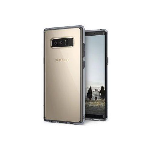 Samsung galaxy note 8 - etui na telefon fusion - czarny marki Ringke