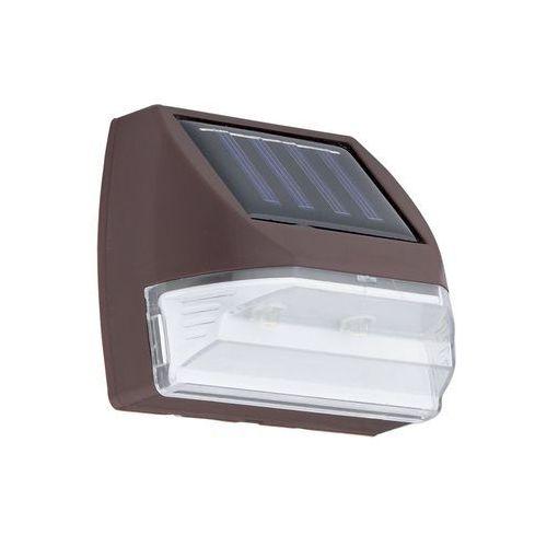 48587 - natynkowy solarny kinkiet solar 2xled marki Eglo