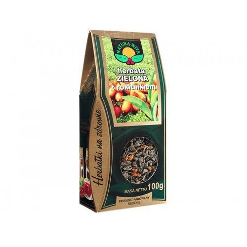 Herbata zielona z rokitnikiem ( rokitnik) 100g / Natura wita (5902194540636)