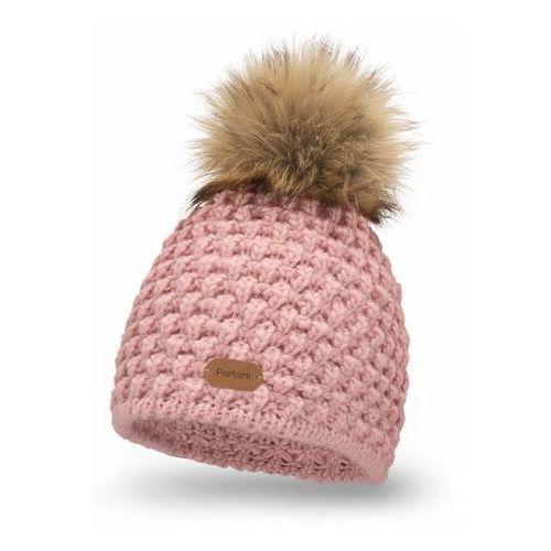 Pamami Zimowa czapka damska - pudrowy róż