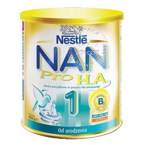 NESTLE NAN PRO H.A. 1 mleko początkowe 400 g (mleko dla dzieci)