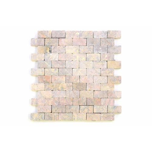 Mozaika marmurowa Garth na siatce 1 m2