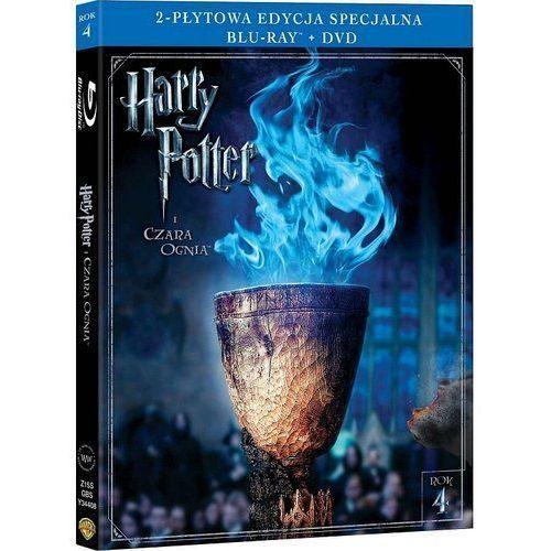 Mike newell Harry potter i czara ognia. 2-płytowa edycja specjalna (1bd+1dvd) (płyta bluray) (7321996156926)