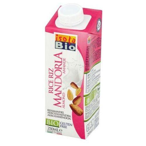 Napój ryżowy migdałowy bezglutenowy BIO 250 ml Isola Bio (8023678425403)