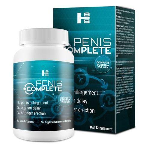 Penis Complete - erekcja, dłuższy seks i powiększanie penisa 3w1