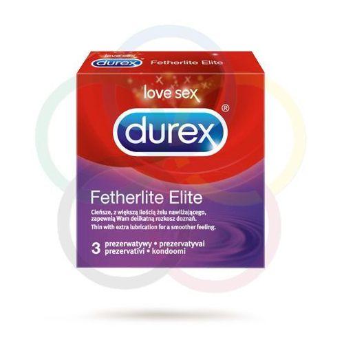 Prezerwatywy fetherlite elite - 3szt. marki Durex