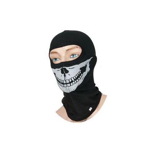 Kominiarka bawełniana, z nadrukiem Skull (1 wyc. na oczy), KOLTER