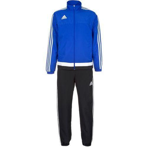 adidas Performance TIRO 15 Dres bold blue/white/black, kolor niebieski