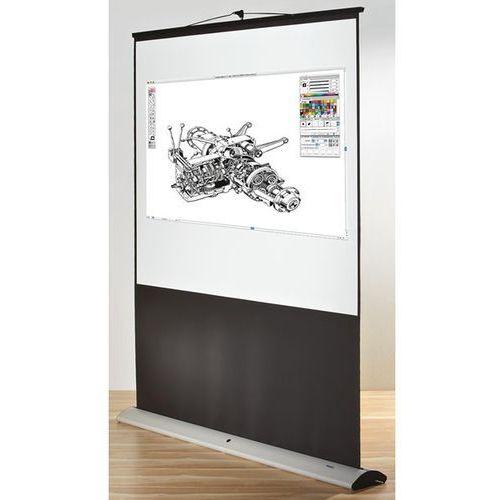 Ekran ruchomy, format 4:3, szer. x wys. 1800x2000 mm. Projekcja wielkoformatowa