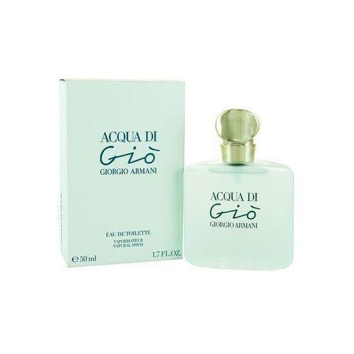 Acqua Di Gio 50ml marki Giorgio Armani z kategorii: wody toaletowe dla kobiet