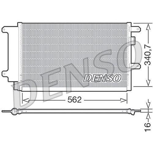 Skraplacz, klimatyzacja dcn12003 marki Denso