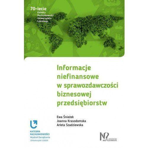 Informacje niefinansowe w sprawozdawczości biznesowej przedsiębiorstw, Gab