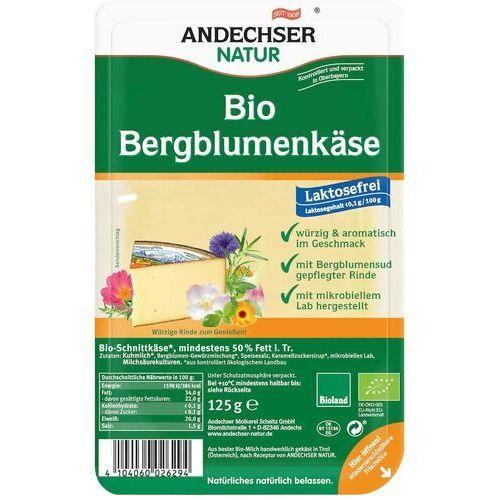Ser bergblumenkaese w plastrach 50% BIO 125 g Andechser Natur