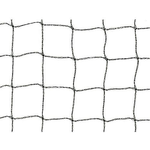 Czarna pleciona siatka przeciw ptakom oczko 25 x 25 mm Gramatura 14 g/mkw