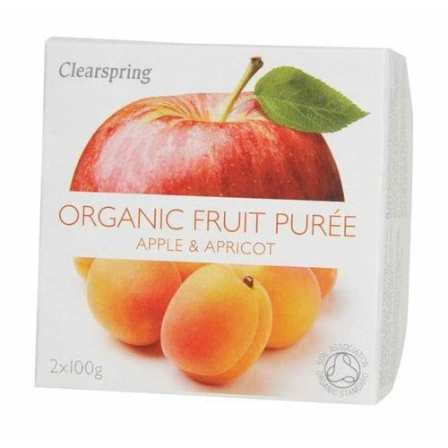 Deser jabłko-morela BIO 200 g - Clearspring
