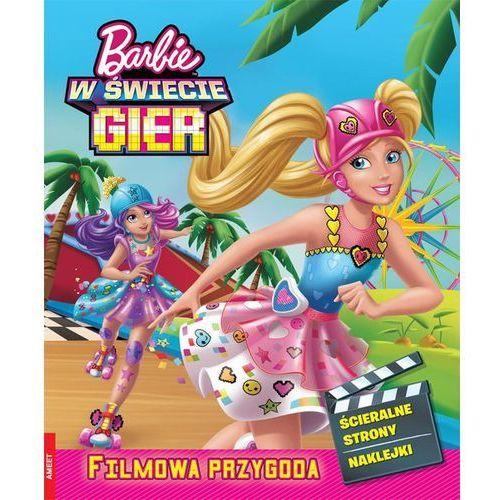 Barbie w świecie gier Filmowa przygoda SSF-101 - Jeśli zamówisz do 14:00, wyślemy tego samego dnia. Darmowa dostawa, już od 99,99 zł., oprawa miękka