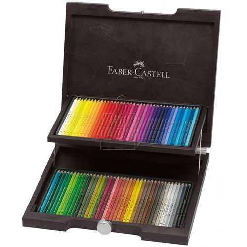 Kredki polychromos , 72 kolory w drewnianej kasecie marki Faber-castell
