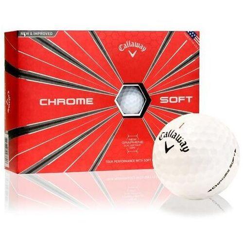 Callaway golf Piłki golfowe callaway chrome soft (białe)
