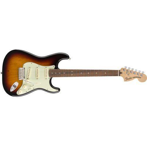 Fender deluxe roadhouse stratocaster pau ferro fingerboard, 3-color sunburst gitara elektryczna